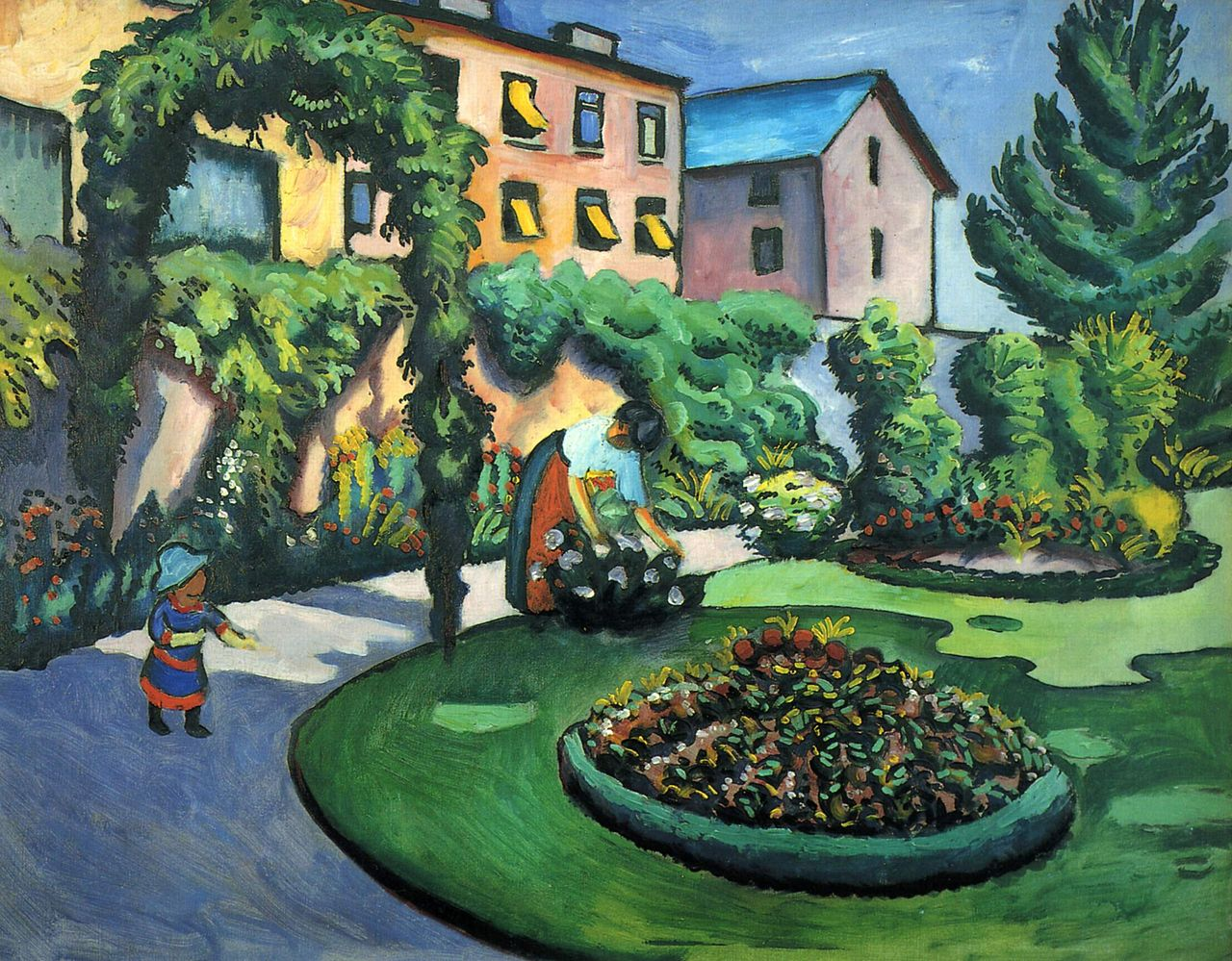 German Expressionist painter August Macke