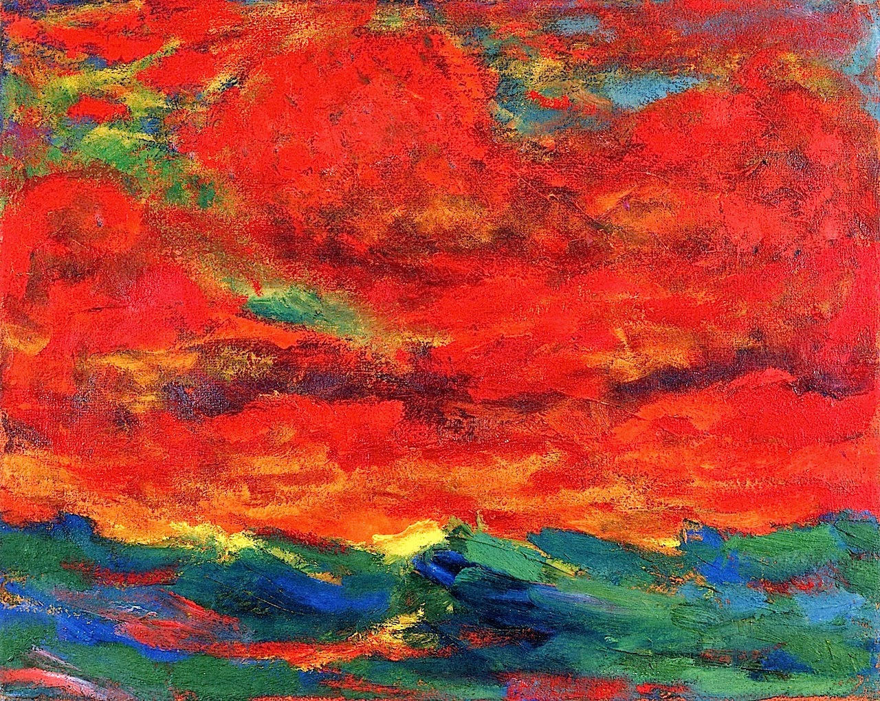 German Expressionist painting Emil Nolde, A Long Time