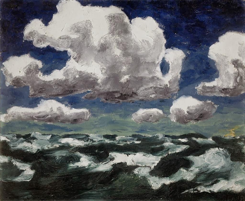 German Expressionist painter Emil Nolde Winter