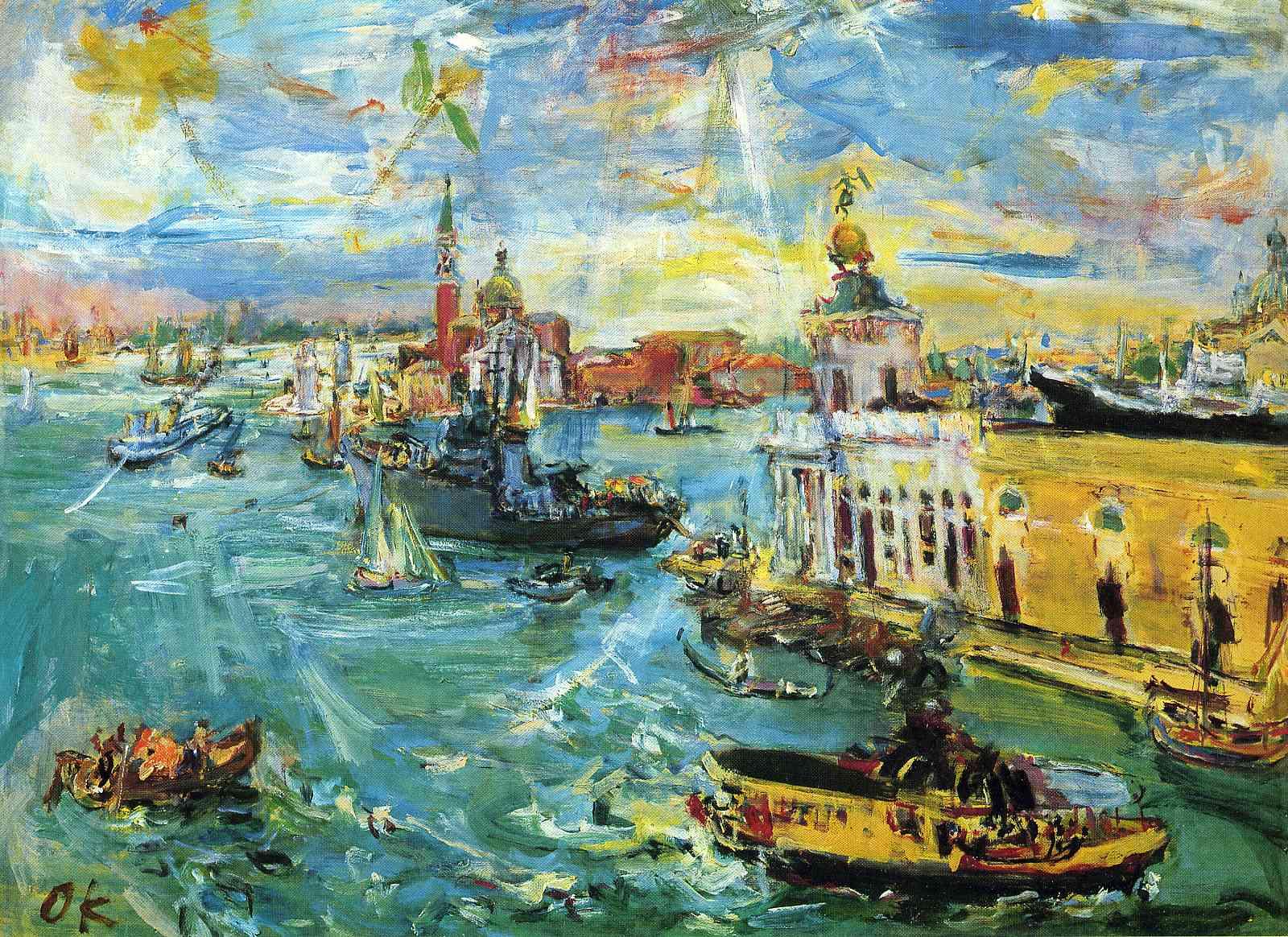 German Expressionism, German Expressionist painting by Oskar Kokoschka