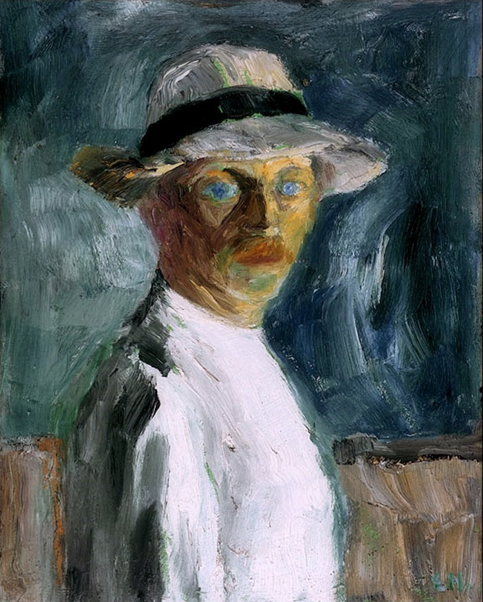 German expressionist painter Emil Nolde Self Portrait