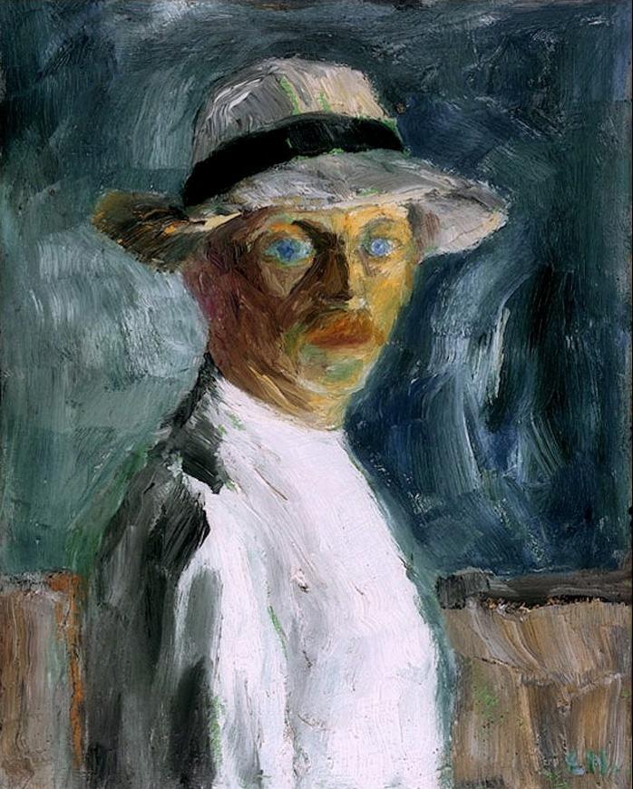 German expressionist painter Emil Nolde Self Portrait
