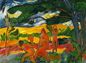 German Expressionism, Max Pechstein, Under the Trees