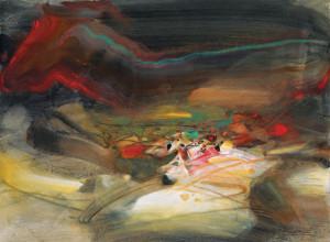 Chu Teh-Chun landscape painting